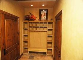 Park City Vacation Rental at The Canyons - Mud Room