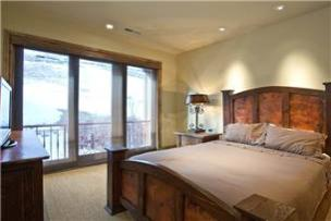 Park City Vacation Rental - 2nd Bathroom with Queen Bed