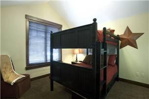 Park City Vacation Rental - 3rd Bedroom with Full Bunk Beds