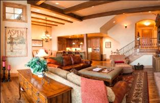 The Canyons vacation rental - great room