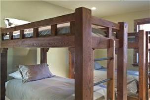 Park City Vacation Rental - Bunk Room with 4 Twin Beds