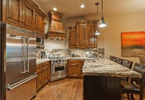 The Canyons Ski Resort Vacation Rental - Juniper Kitchen