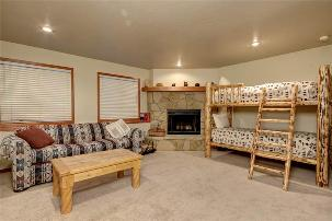 Deer Valley Vacation Rental - 5th Bedroom with 2 Bunk Bed Sets