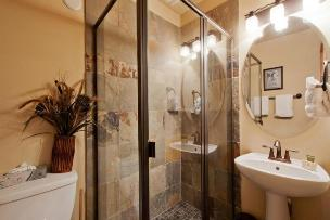 Park City Vacation Rentals - Full Bathroom with Tiled Shower