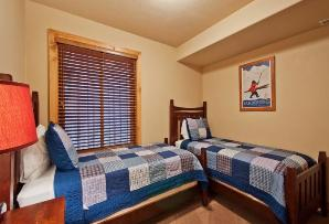 Park City Vacation Rental - 4th Bedroom with 2 Twin Beds