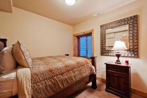 Park City Vacation Rental - 3rd Bedroom with Queen Bed