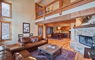 Park City Vacation Rental - Great Room