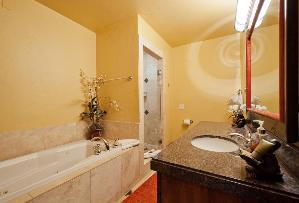 Park City Condo Rental - Master Bathroom with Jetted Tub