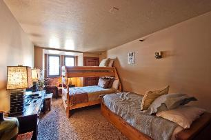 Park City Condo Rental - 4th Bedroom with Bunk Beds, Twin Bed, Trundle