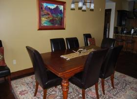 Park City Vacation Rental - Dining Room