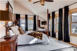 Park City Vacation Rental - Master Bedroom