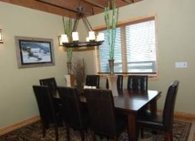 Deer Valley Vacation Rental - Dining Room