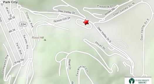 Deer Valley Vacation Rental - Map