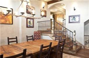 Park City Vacation Rental - Dining Room with Seating for 8