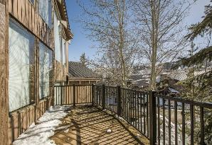 Deer Valley Vacation Rental - Deck View