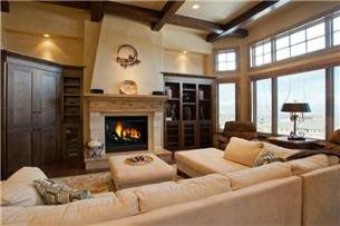 Park City Vacation Rental - Great Room w/ Fireplace