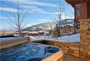 Park City Vacation Rental - Hot Tub w/ Panoramic Views