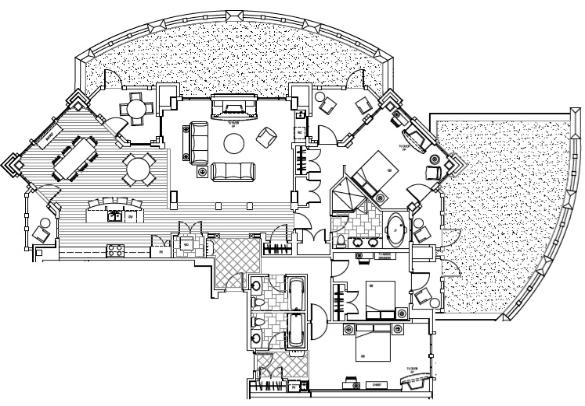 Park City Mountain Resort - Hyatt Centric at The Canyons Floor Plan