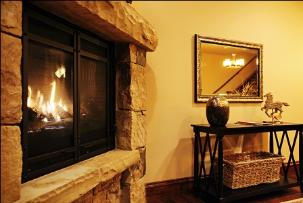 Park City, The Canyons Vacation Rental - Fireplace Close Up