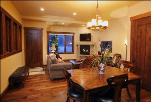 Park City, The Canyons Vacation Rental - Kitchen to Great Room View