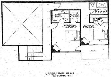 Park City (The Canyons) Vacation Rental - Juniper Landing Floor Plan