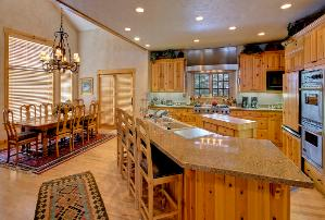 Park City Vacation Rental - Kitchen & Dining Area