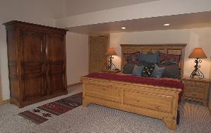 Park City Vacation Home - Master Bedroom