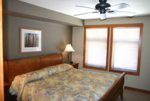 Solitude Vacation Rental - Master Bedroom