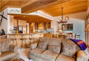 Deer Valley Vacation Rental - View from Great Room to Kitchen