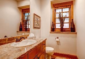 Park City Vacation Rental - Half Bath