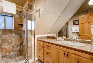Park City Vacation Rental - Main Floor Bathroom