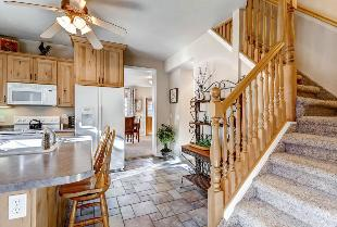 Park City Vacation Rental - Kitchen to Great Room View