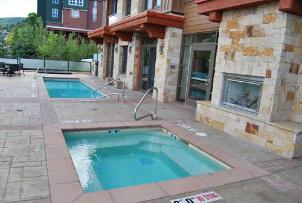 Park City Vacation Rental - Pool and Hot Tub