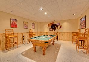 Park City Vacation Rental - Billiards Table