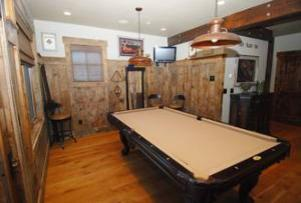 Park City Vacation Rental - Pool Table