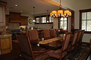 ParK City vacation rental - Silver Star dining