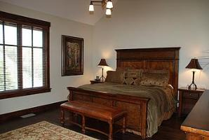 ParK City vacation rental - Silver Star master bedroom