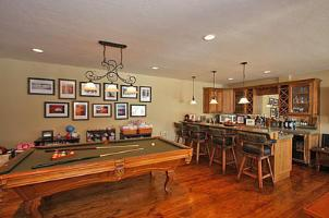 Solitude Vacation Rental - Family Room Pool Table