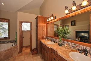 Solitude Vacation Rental - Master Bath