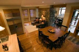 Solitude Vacation Rental - Kitchen Dining Overview