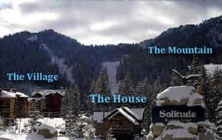 Solitude Vacation Rental - Location to Resort