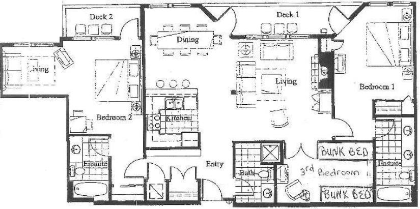 Solitude Vacation Rental - Floor Plan