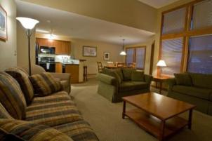 Solitude Vacation Rental - Great Room to Kitchen View