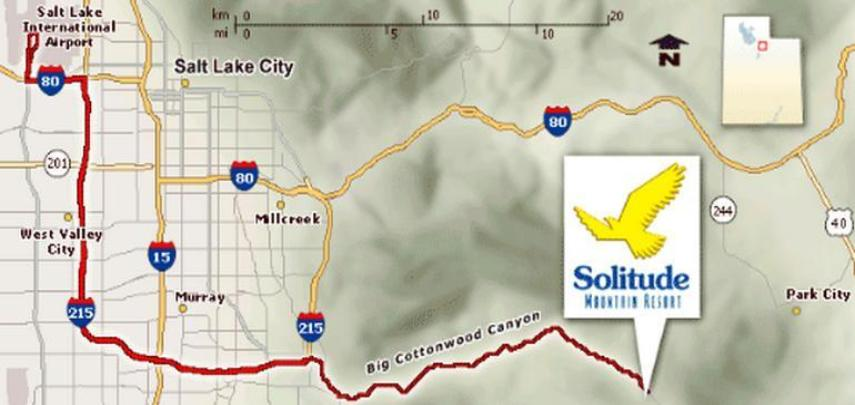 Solitude Vacation Rental - Map