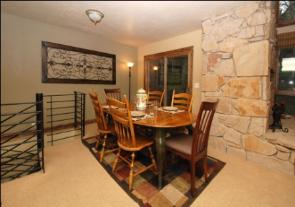 Deer Valley Vacation Rental - Dining Area