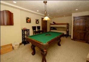 Deer Valley Vacation Rental - Rec room with Pool Table