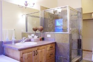 Park City Condo - Bathroom w/Jacuzzi Tub & Shower