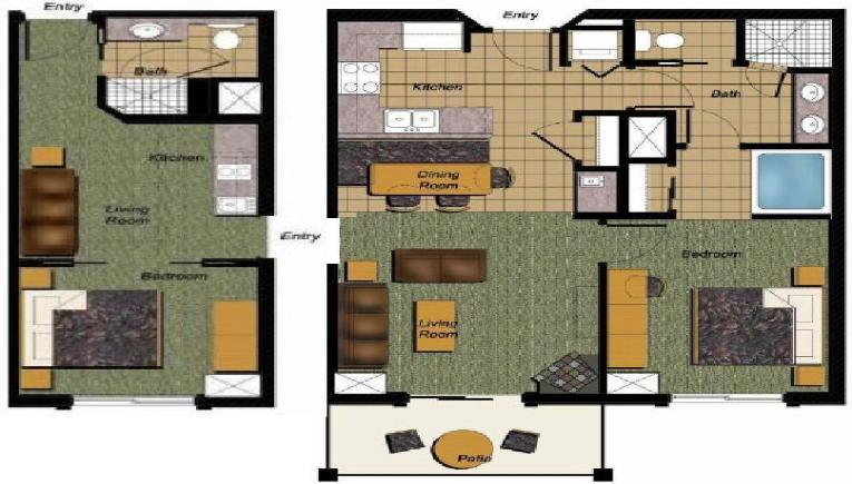 The gallery for luxury steam showers Westgate town center 2 bedroom deluxe