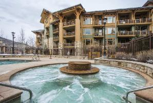 Park City Vacation Rental at the Hyatt Centric - Hot Tub and Pool