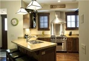 Park City Vacation Rental - Designer Kitchen